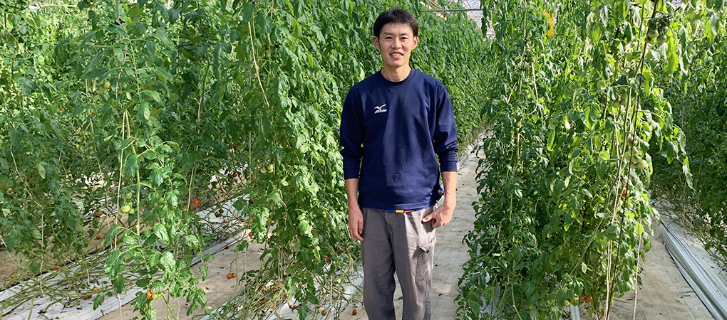 農園長 伊原努さん