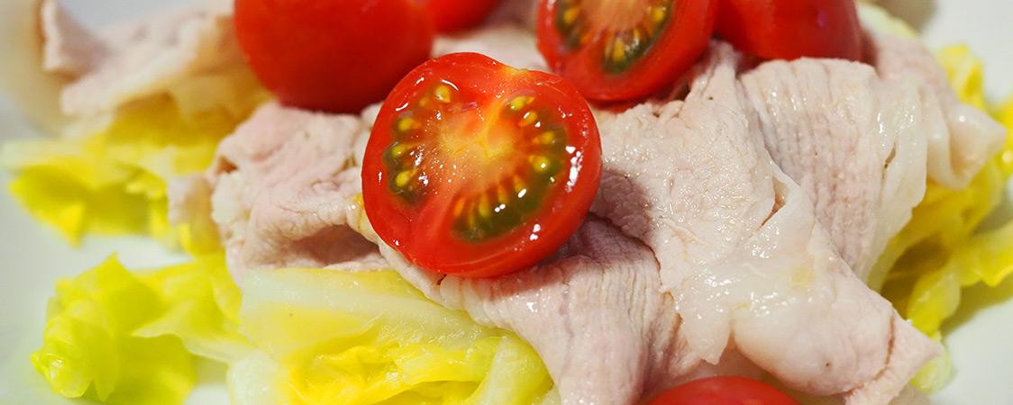 プレミアムフルティカ入り豚しゃぶサラダ イメージ
