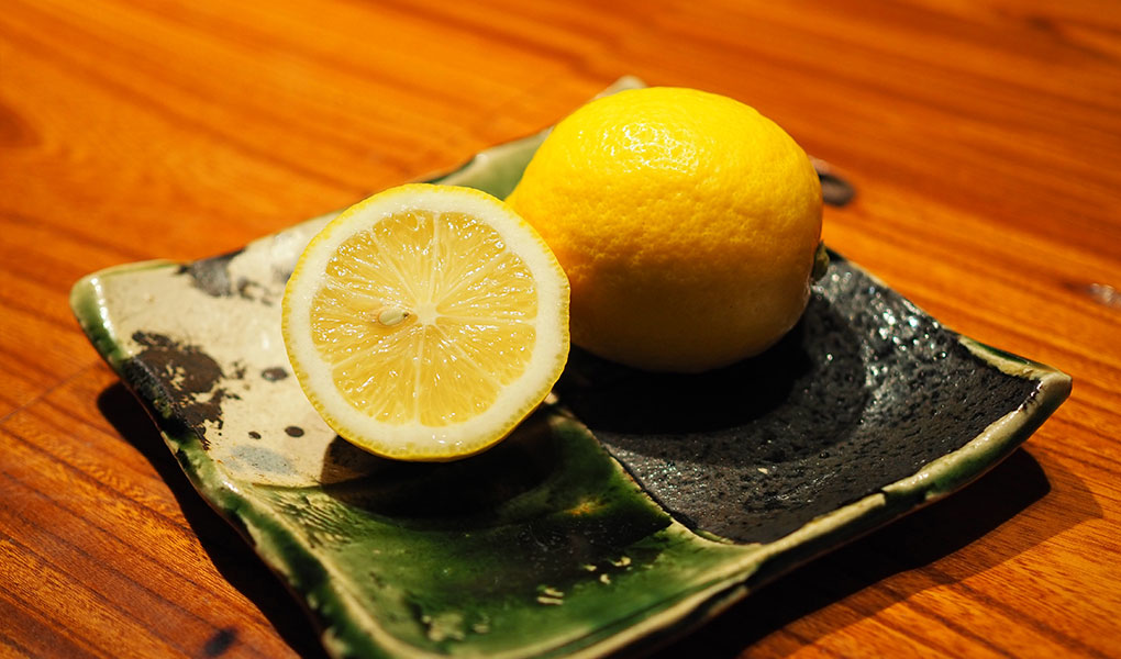 田坂農園 特別栽培レモン 断面 イメージ